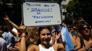 Seguidores de Macri