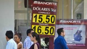Cotización peso dólar en México