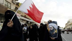 En Bahréin tambuén hubo manifestaciones por la ejecución del clérigo chiita Nimr al Nimr