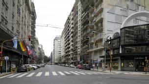 Avenida Alvear en Buenos Aires