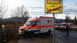 Servicios de emergencia en Bad Aibling