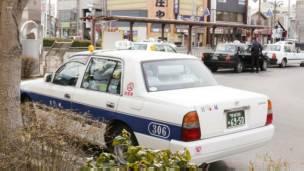 Taxi en Japón