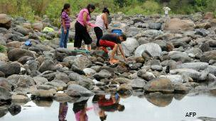 Río Guacerique en Honduras.