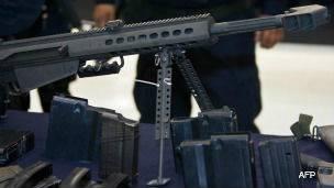 Fusil Barrett, calibre .50