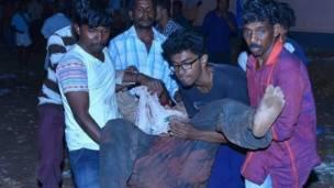 Tras la explosión hay al menos 80 muertos y 200 heridos.