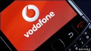 Logo hãng Vodafone