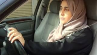 Wata mata da ta taka dokar haramta tuki a Saudiyya