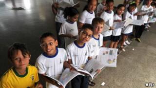 Escola brasileira, em foto de arquivo (Ag. Brasil)