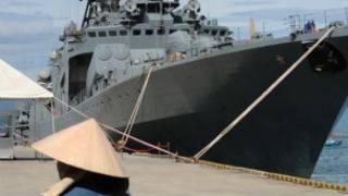 Tàu chiến Nga ở Việt Nam (ảnh minh họa)