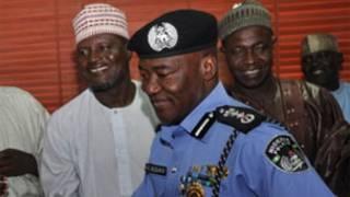 MD Abubakar, babban Spetan 'yan sandan Najeriya