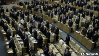 Sesión en la Duma