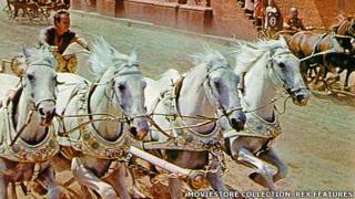 "Escena de la película ""Ben Hur"""