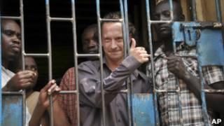 David Cecil, productor de teatro británico en Uganda