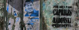 Propaganda electoral en Venezuela