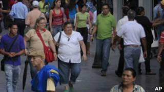 Gente en Venezuela