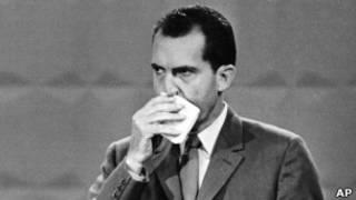 Richard Nixon en el debate de 1960