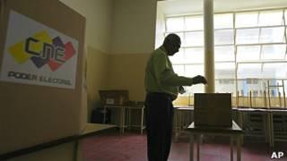 Puesto electoral en Venezuela