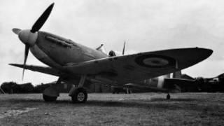 Avión caza Spitfire