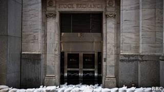 Bolsa de Nueva York cerrada