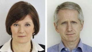Helen Boaden y Steve Mitchel