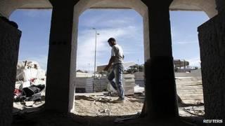 Construcción de asentamientos israelíes