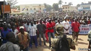 Rebeldes en la República Centroafricana