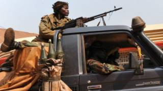 Soldats tchadiens en Centrafrique (archives)