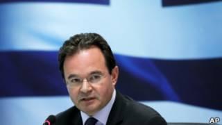George Papaconstantinou, exministro de Finanzas