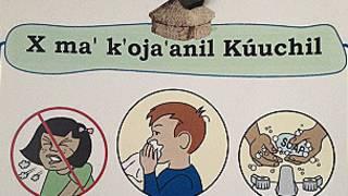 Texto en lenguaje maya