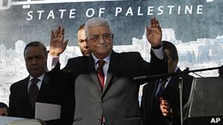 presidente de la Autoridad Nacional Palestina, Mahmoud Abbas