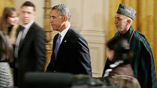 Obama y Karzai