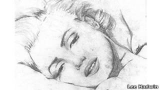 Marlyn Monroe karya Lee Hadwin