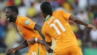 Wachezaji wa Ivory Coast