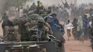 Franceses en Mali