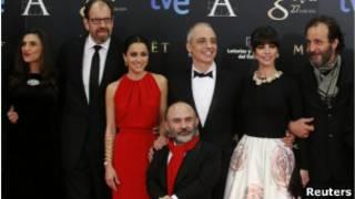 El reparto de Blancanieves en los premios Goya