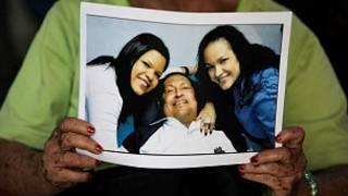 Les partisans de Chavez sont fiers de son retour au pays.