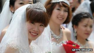 Cô dâu Trung Quốc (ảnh minh họa)