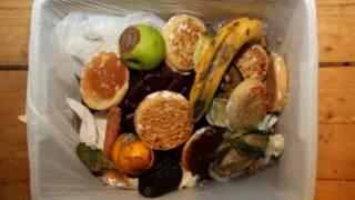 sampah makanan