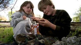 अमरीका में भूखे बच्चे
