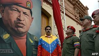 MIlitares con Chávez