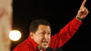 Tổng thống Chavez lúc sinh thời