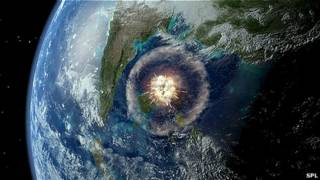 Impacto de cometa en la tierra