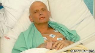 Alexander Litvinenko antes de morir
