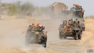 Combates en Mali (archivo)