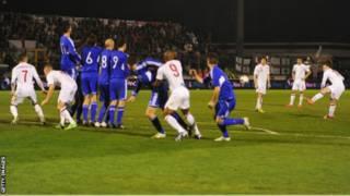 Timnas Inggris melawan San Marino