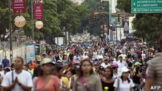 Tuần hành tại Caracas