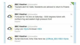 Ataques cuentas Twitter