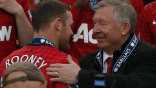 Wayne Rooney dan Alex Ferguson