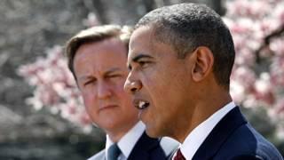 डेविड कैमरन और बराक ओबामा