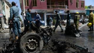 Carro Bomba Kabul